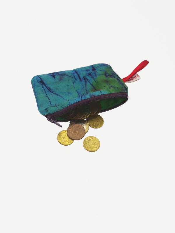Joadre Münzbeutel Afrikanische stoff Geldbörse