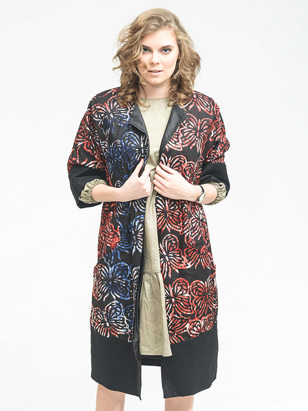 Afrikanisch inspirierte Jacken nachhaltige Mode