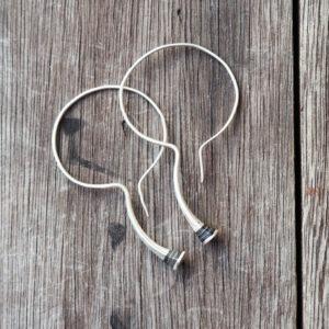 Handgefertigter Taureg Silberschmuck Ohrringe